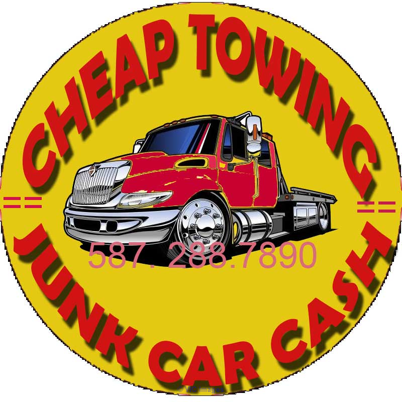 LOW COST TOWING SERVICE ☎ (587) 288-7890