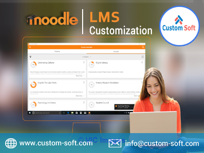Moodle LMS Customization India by CustomSoft calgary