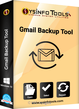 SysInfo Tools Gmail backup Tool