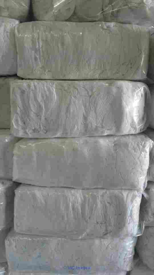 White Fresh Soft Cotton Rags Bales For Sale calgary