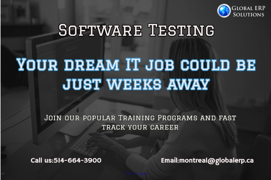 Software Testing QA Training & Placements Software Testing-Global ERP