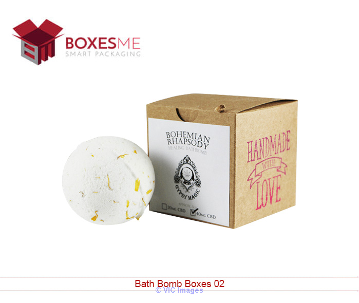 Get Amazing Designs of Bath Bomb Packaging From us calgary