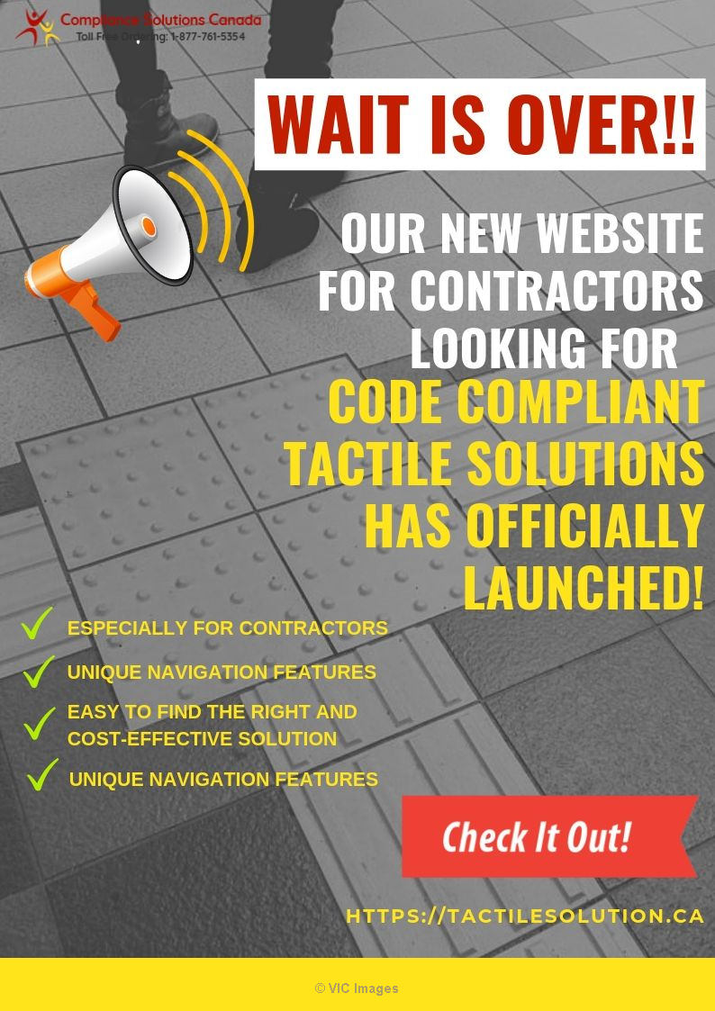 The Wait is Over - Website is Officialy Launched - Tactile Solution calgary