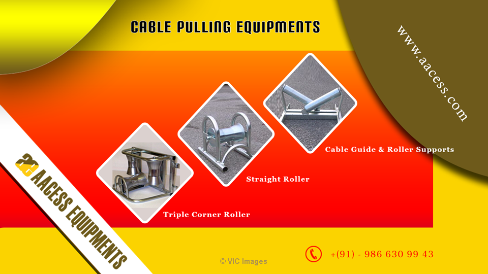 Cable Pulling Winch | Cable Puller Machine calgary
