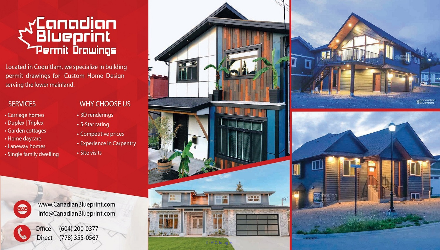 Canadian Blueprint | Building Permit Drawings | Drafting Services calgary