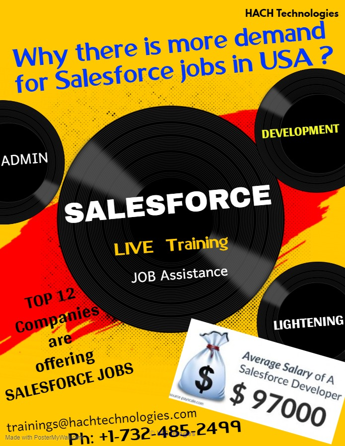 Sales Force Online Training in Alabama